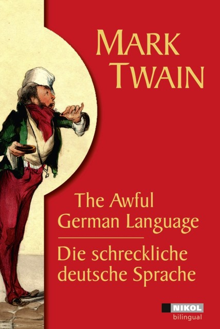 "Book cover of the ""Awful German Language"" by Mark Twain (source: www.ebook.de)"